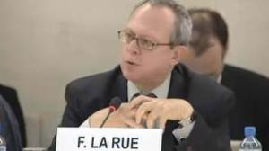 Frank La Rue. Photo source: www.unmultimedia.org