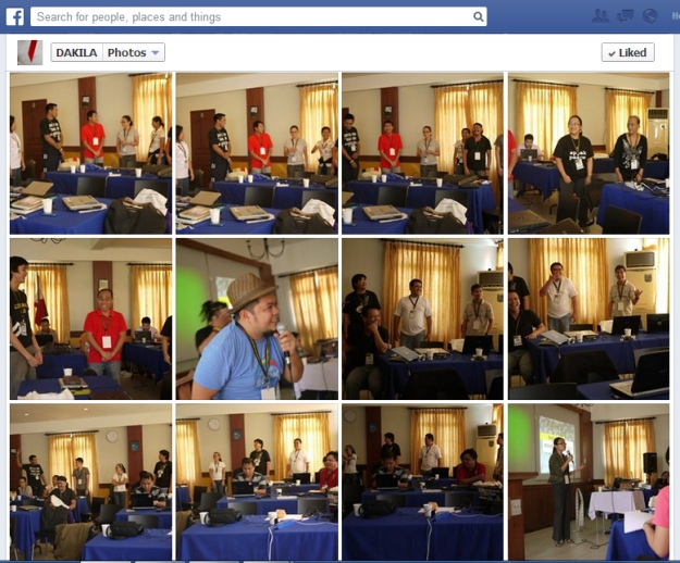 DIGIBAK training. screengrab from DAKILA FB